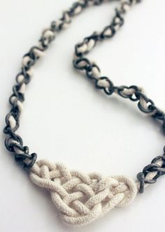 DIY: celtic knot necklace - this is going to be a gift for someone this Christmas