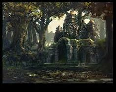 temple ruin - Google Search Jungle Temple, Temple Ruins, Environment, Places, Painting, Google Search, Art, Filing Cabinets, Twitter Banner