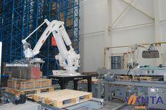ABB robot palletizing system