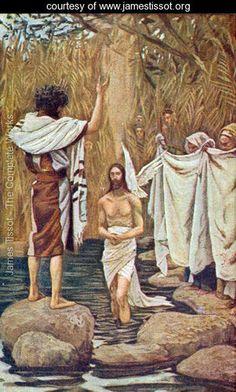 Baptism of Jesus - James Jacques Joseph Tissot - www.jamestissot.org
