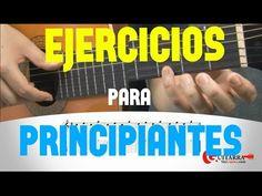 5 ejercicios de guitarra para principiantes - YouTube