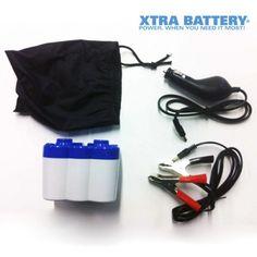 La #batería de #emergencia Xtra Battery le permitirá estar siempre preparado si su coche se queda sin batería.