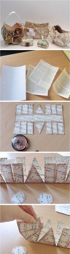 6 Cute Paper Bag b42372aa | DIY