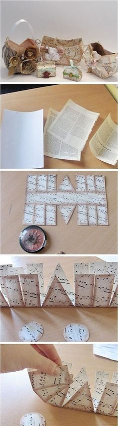 6 Cute Paper Bag b42372aa | DIY