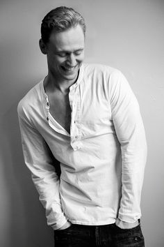 Tom Hiddleston. One of the greatest actors of our time. I can't wait to get ahold of the Hollow Crown