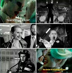 True love knows no boundaries. True love is going to the very end of the world for you without you there is no me Harley And Joker Love, Dc Comics, Harely Quinn, Dc World, Daddys Lil Monster, Love Is Gone, Marvel, Dc Heroes, Gotham City
