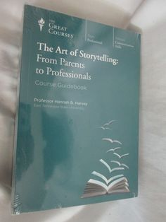 NEW Great Courses THE ART OF STORYTELLING: FROM PARENTS TO PROFESSIONALS DVD Set Teaching Company