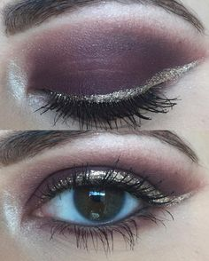 Be the Belle of the Ball with this gorgeous Burgundy Eye Look.