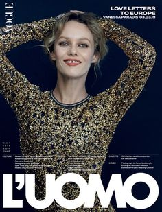 Vanessa Paradis covers L'Uomo Vogue May 2019 by Peter Lindbergh - Vanessa Paradis covers L'Uomo Vogue May 2019 by Peter Lindbergh Published on in Cover by Maximilian Lensed by photographer Pete. Peter Lindbergh, Vanessa Paradis, French People, Lara Stone, Serge Gainsbourg, Marianne, Lily Rose Depp, Helena Christensen, Fashion Cover