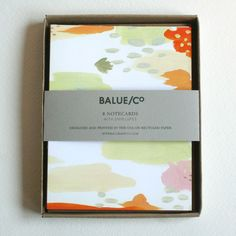 balue/co. | abstract ikat cards (via @Susy Jack*)