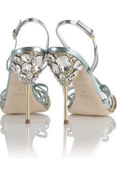 Miu Miu|Strappy jeweled sandals |Wedding Shoes