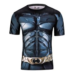 2016 marvel batman camicia di compressione calzamaglia fitness crossfit quick dry manica corta t shirt gym sport tee tops abbigliamento in 2015 New fashion Famous brand hollistic t shirt men 100 % cotton abercr for ombi men T-shirt,summer style t-shirtUSD 15.da T-shirt su AliExpress.com | Gruppo Alibaba