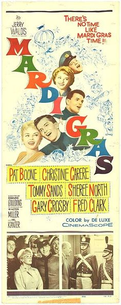 Mardi Gras with Pat Boone Poster - Google Search