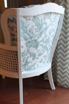 danielle oakey interiors: diy chair makeover
