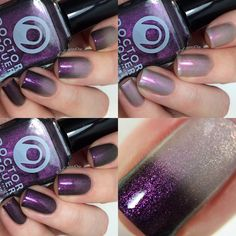 Milky Way (Colorshifting Thermal Custom Nail Polish) · Doctor Lacquer