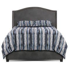 Benjamin Queen Bed Aged Grey Bedroom Bedbedroom Furniturebedroom Ideasthe Brickmattressesqueen