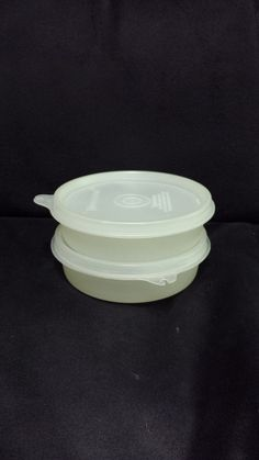 Vintage Tupperware Little Wonders Round Snack containers, Set of TWO, #1286 by…