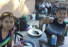 Having some cake by the pool #letsgetyoufree #kids #picoftheday #stayathomedad #entrepreneur #life #fam #blessed #gratitude #family #8fm #familyfirst #lovemyfamily #ninjadad