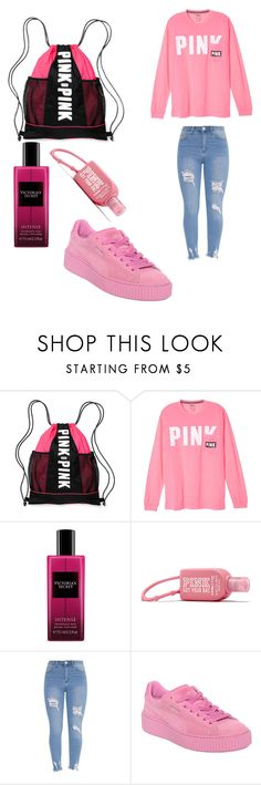 Untitled #720 by alanawedge59 on Polyvore featuring Victoria's Secret and Puma