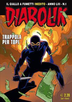 diabolik fumetti   Diabolik 2014: novità per copertine, ristampe e redazionali ...
