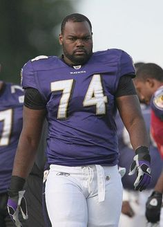 Michael Oher.... Super Bowl Champions Baltimore Ravens !!!