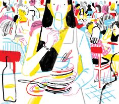 A hard-partying woman reinvents herself in the world of New York fine dining. New York Times, Ny Times, The House Of Mirth, The Caged Bird Sings, Colors And Emotions, Heart And Lungs, Tina Fey, Margaret Atwood, International News
