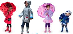 Not your typical everyday rain gear, but should be your kids favorite…