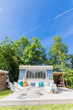 Ibiza lodge veranda
