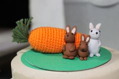 BUNNIES! #justtrade #fairtrade #ethical #jewellery #Fashion #crochet #carrot #fymo