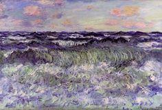 tearyplant: Claude Monet, Sea Study, 1881 pale/plant (via Bloglovin.com )