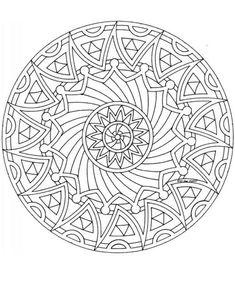 Coloring pages special mandala Picture drawing printable and coloring. Mandala Coloring Pages, Coloring Book Pages, Printable Coloring Pages, Coloring Sheets, Mandala Art, Mandala Design, Zentangle Patterns, Mandala Pattern, Zentangles