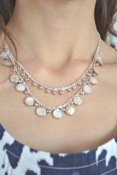 Tea Rose Home: Summer is Near Necklace