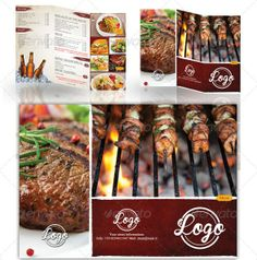 Free And Premium Food And Restaurant Menu Brochure  Graphic