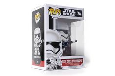 POP! Star Wars: Episode 7 - First Order Stormtrooper (Heavy Artillery)