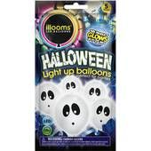Illooms Ghost Balloons 5 Pack