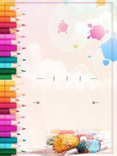 Boarder Designs, Frame Border Design, Page Borders Design, Kids Background, Cartoon Background, Paper Background, Yellow Background, Powerpoint Background Design, Poster Background Design