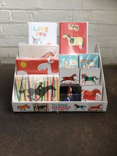 They Draw Horses Don't They? Greetings cards and Coasters