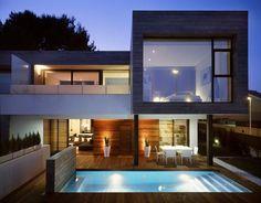 Rocafort Residence. Antonio Altarriba, Architects. Valencia, Spain. #modern #architecture