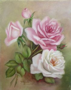 pink-white-roses