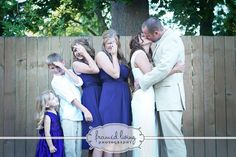 Wedding picture with kids