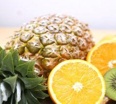 Ananas-Salat mit Kiwi-Sauce - Frühlingsfrisch - Lust auf eine exotische Vitaminspritze? Die TK erklärt, wie es geht.