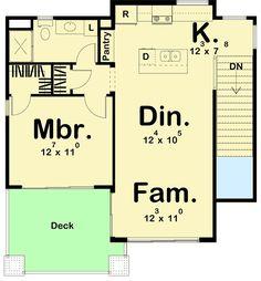 Ultra-Modern Tiny House Plan - 62695DJ | Architectural Designs - House Plans