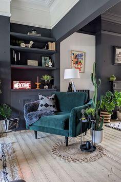 New Living Room, Living Room Interior, Home And Living, Apartment Interior Design, Living Room Colors, Living Room Decor, Söderhamn Sofa, Lounge Decor, Living Room Inspiration