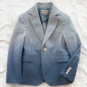 la miniatura ombre seersucker blazer