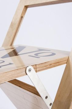Label Folding Chair by Felix Guyon for LA FIRME. - Design Is This