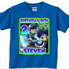 Custom Miles to Tomorrowland Birthday Party Shirt