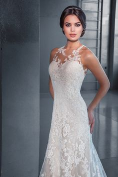 Lace wedding dress. Wedding dress.Trumpet par AutumnSilkBridal