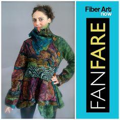 Fiber Art Now   FANFare interviews Jean Gauger #Fiberfriends