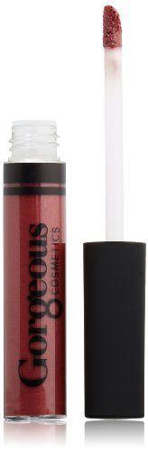 Gorgeous Cosmetics Lip Gloss, Berry Rose - http://buyonlinemakeup.com/gorgeous-cosmetics/berry-rose-gorgeous-cosmetics-lip-gloss-candy