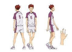 48 Best haikyuu character design images in 2017 | Character